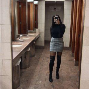 Plaid H&M Skirt